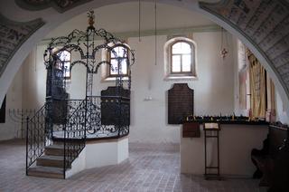 Řečniště v Šachově synagoze.