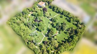 Park z dronu od Jana Husáka