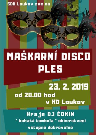 Maškarní disco ples