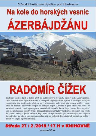 Na kole do horských vesnic Azerbajdžánu