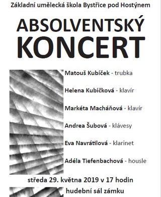 Absolventský koncert v zámku