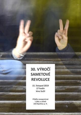 30. výročí sametové revoluce