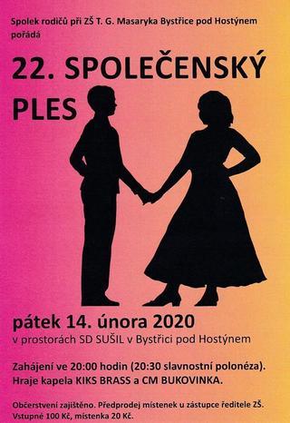 22. Společenský ples