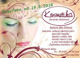 Kosmetické studio Veroniky Valentové
