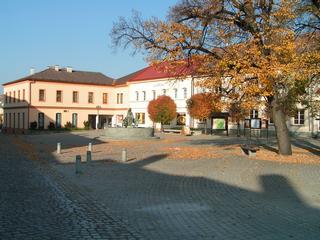 Náměstí Bystřice pod Hostýnem